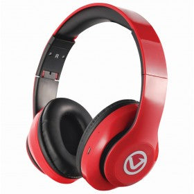red bluetooth wireless headphones is a great gift for him or gadget gifts for men