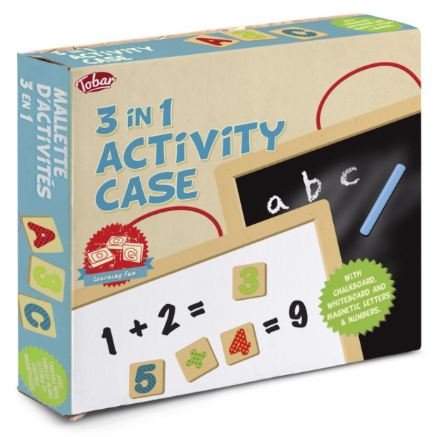 3 in 1 Activity Case A Fun Birthday Chalkboard in a box