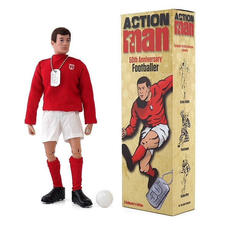 Action Man 50th Anniversary Collectors Edition - Footballer