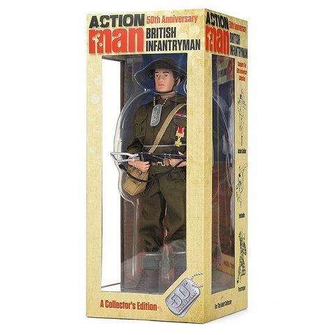 Action Man 50th Anniversary Collectors Edition - British Infantryman