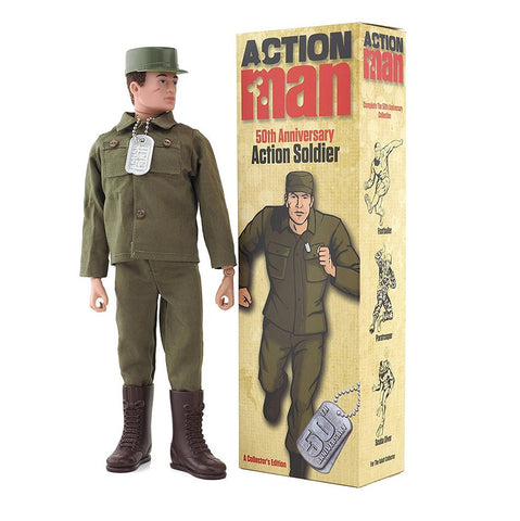 50th Anniversary Action Soldier with Box