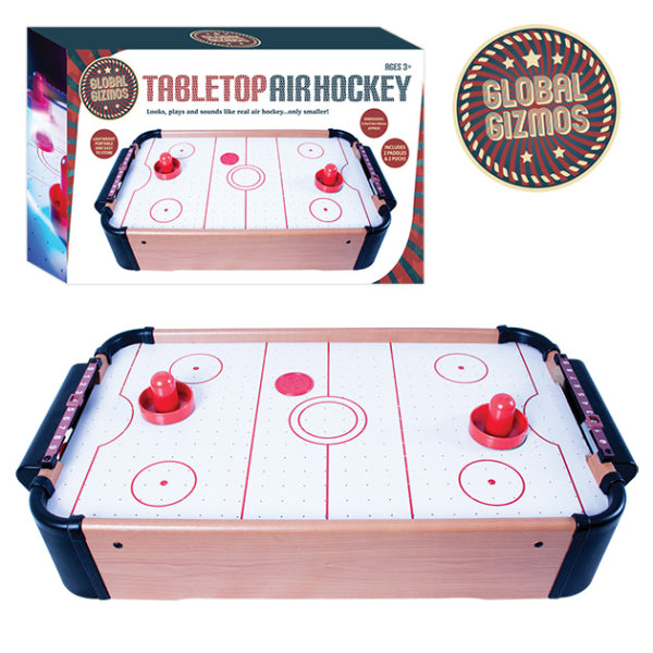 Mini Air Hockey Table - Fun Game Kids & All The Family for Birthday Holiday