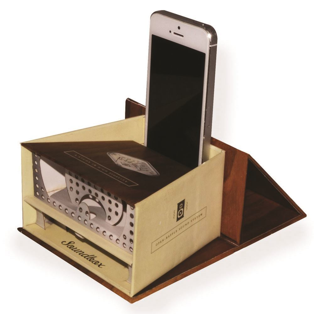 Smartphone Retro Analogue Amplifier by Soundbox