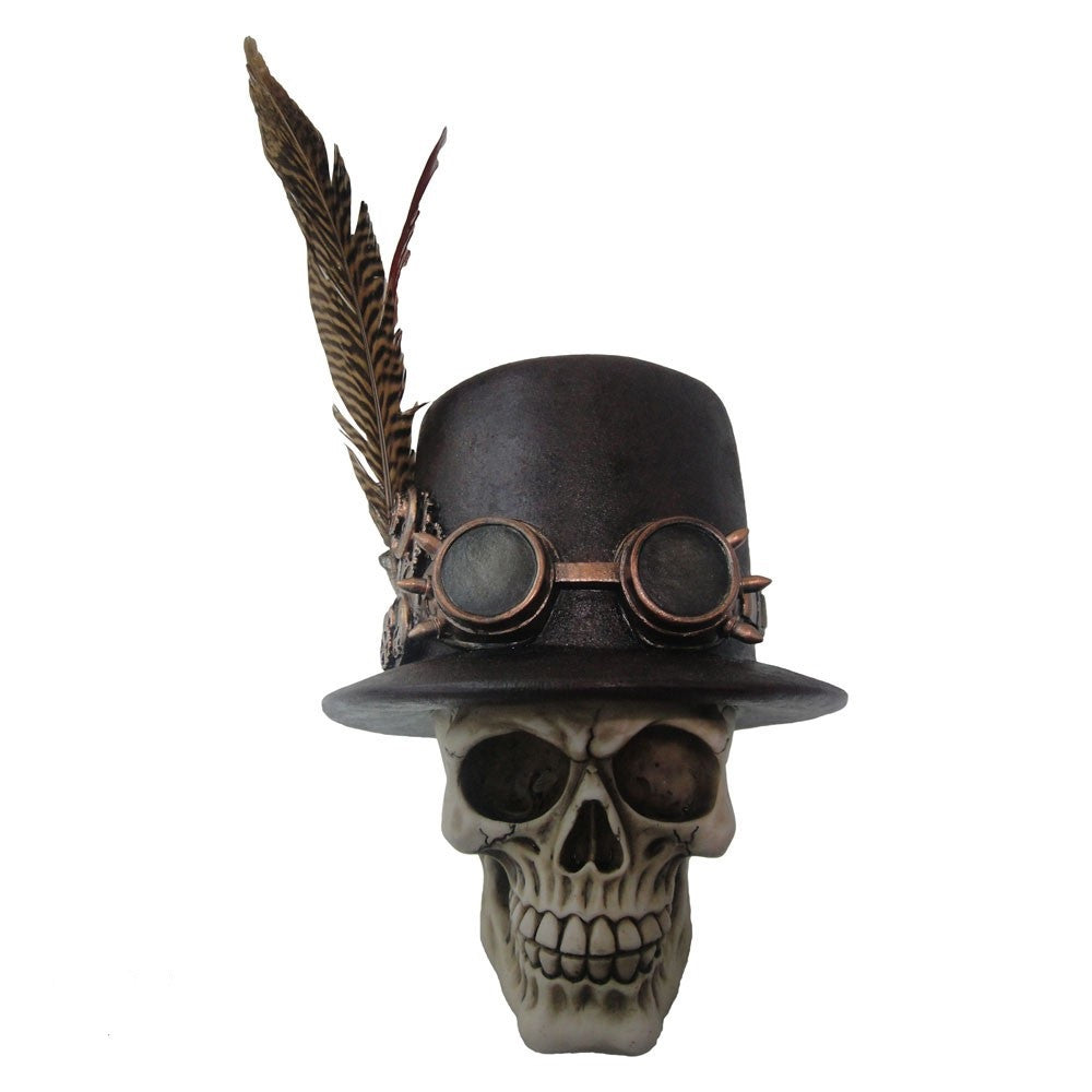 Nemesis Now 'The Aristocrat' Steampunk Skull Ornament