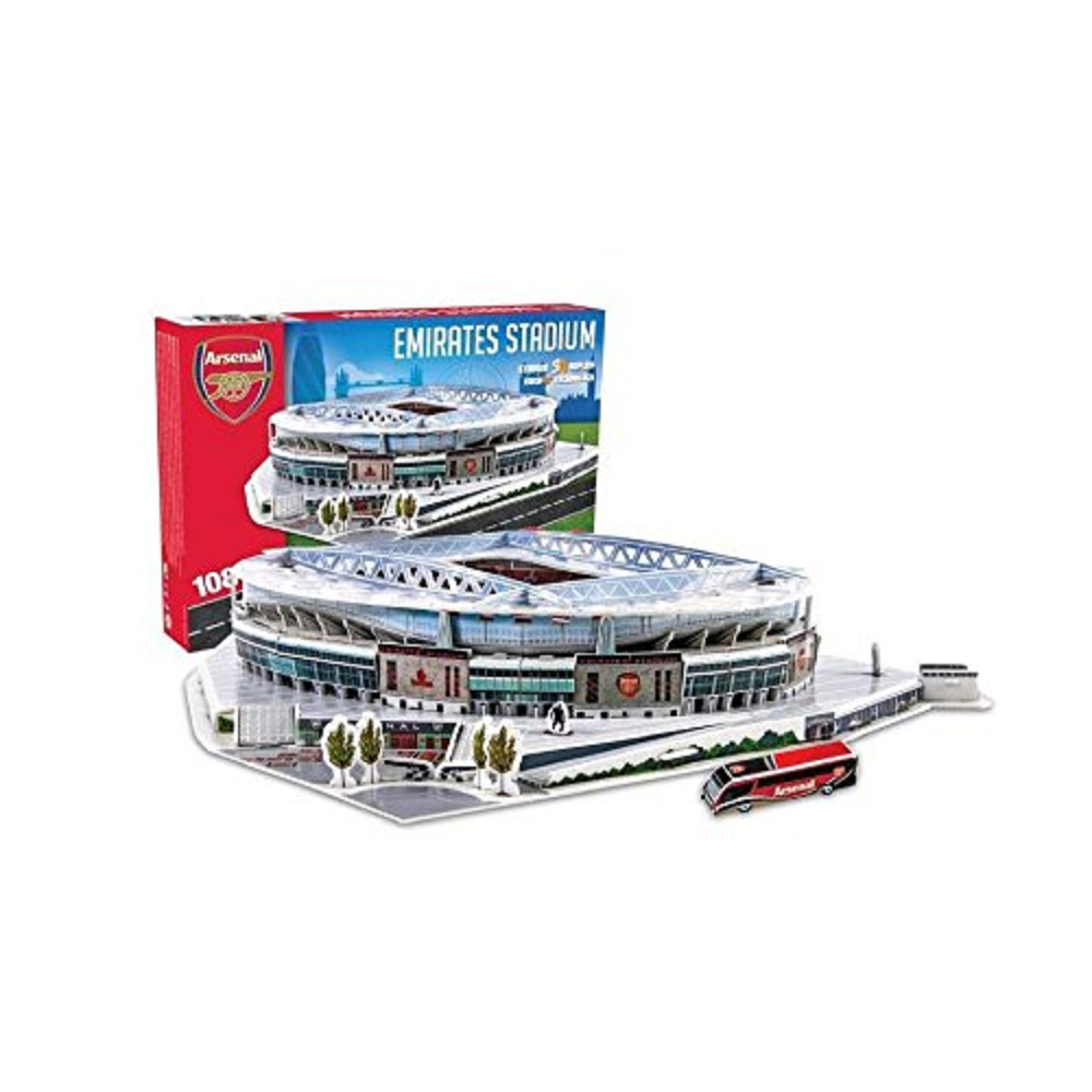 Arsenal 'Emirates' Stadium 3D Puzzle