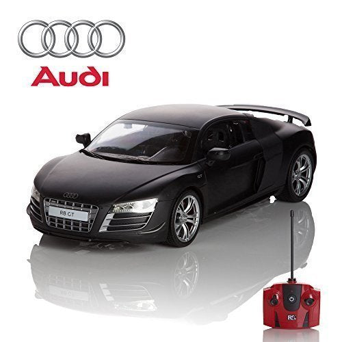 Audi R8 GT Black 1:24 Remote Control Car