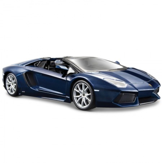 Street Series Lamborghini Aventador LP 700-4 Blue 1:24 Remote Control Car by Maisto