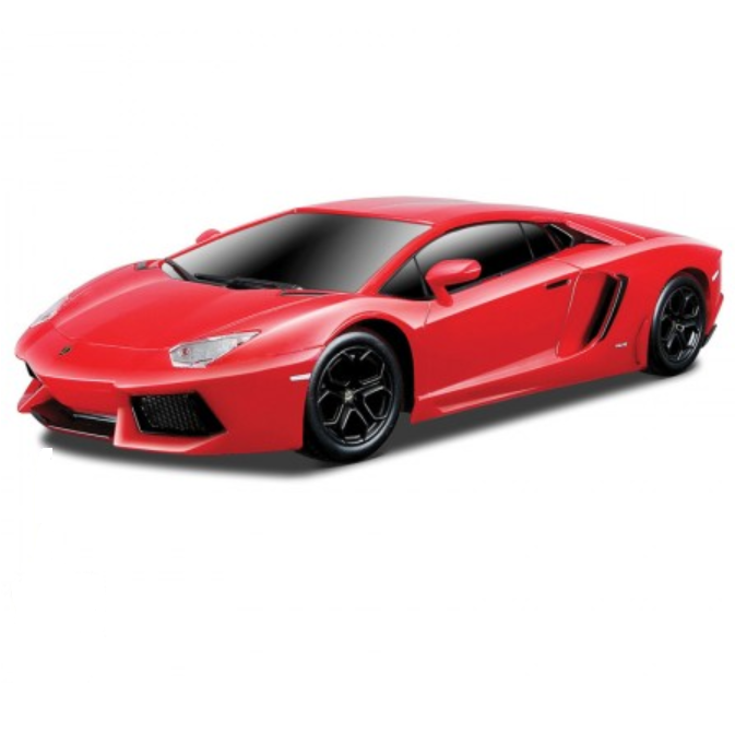 Street Series Lamborghini Aventador LP 700-4 Red 1:24 Remote Control Car by Maisto