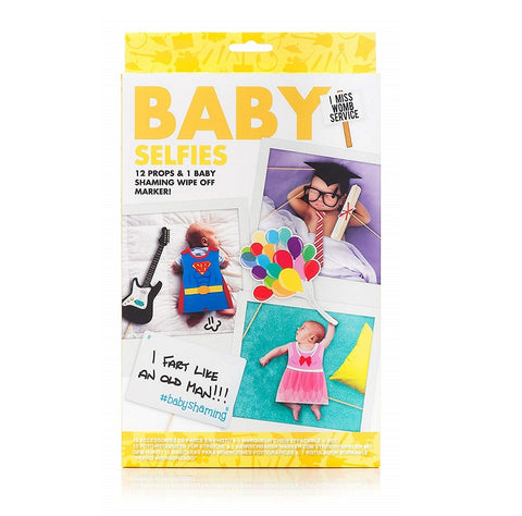 Baby Selfies Props Set