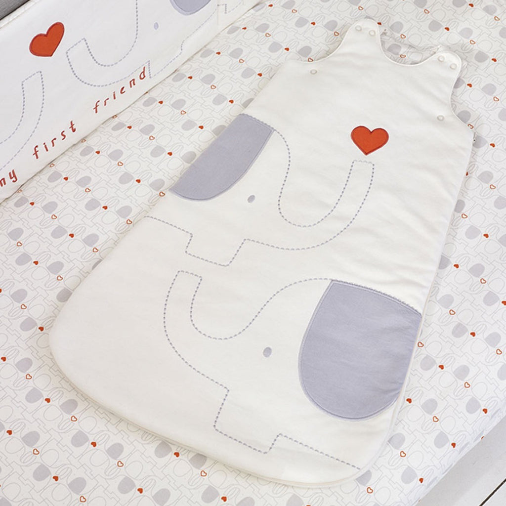 Natures Purest 'My First Friend' Organic Sleeping Bag Embroidered 2.5 Tog