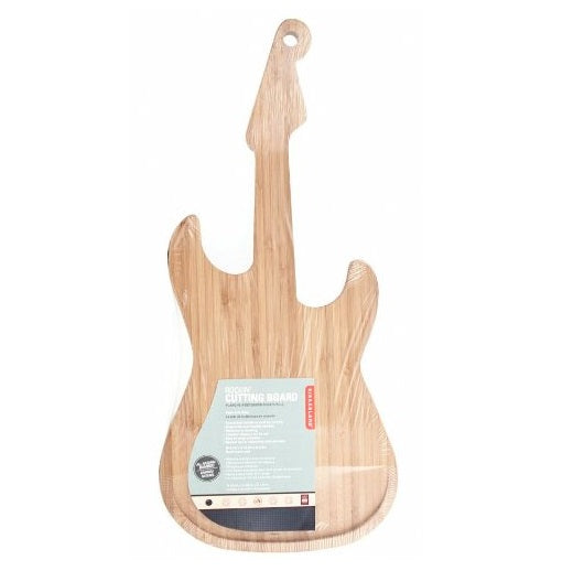 Bamboo Guitar Chopping Board by Kikkerland