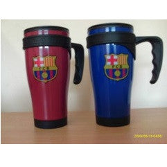 FC Barcelona * Red & Blue Travel Mugs x 2