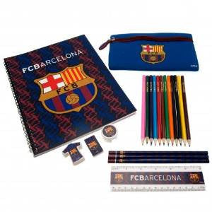 F.C. Barcelona Ultimate Football Stationery Set ~ School College Home