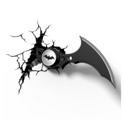Batman Arkham Knight Batarang 3D Deco Wall Light