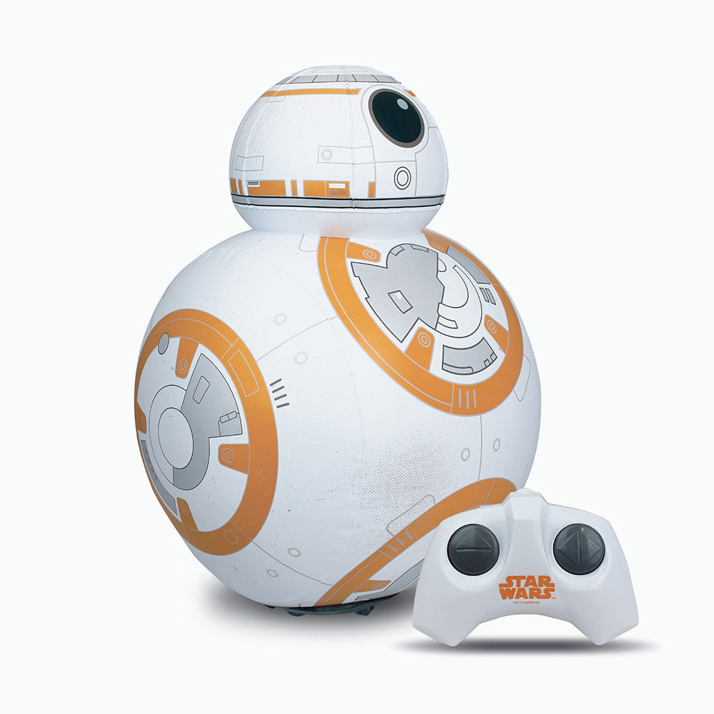 bb-8 inflatable remote control that is a great gift for kids, gift for him or gadget gifts for men