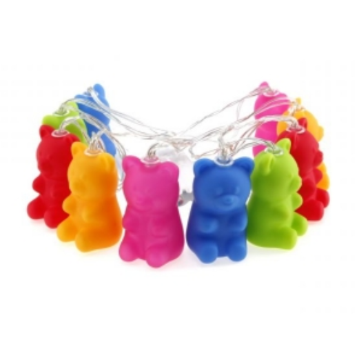 Jelly Bear String Lights by AddCore