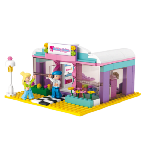 Sluban - Girl's Dream - Beauty Salon Building Bricks Set