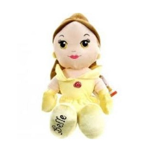 "Original Classic Disney Princess 12"" Soft Plush Doll ~ Belle"