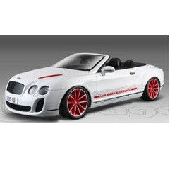 Bentley Continental Supersports Convertible ISR White 1:18 Scale Diecast Model