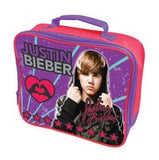 Justin Bieber Vinyl Lunch Bag
