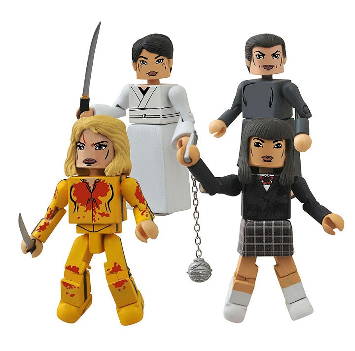 Kill Bill I & II House of Blue Leaves Minimates Box Set