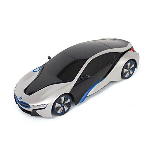 Silver New York BMW I8 1:18 Scale Remote Controlled Car