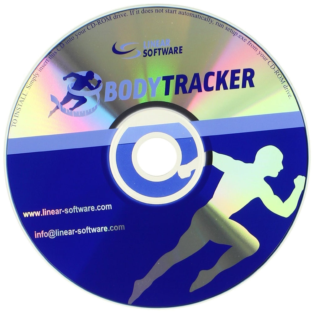 'Body Tracker' Body Fat Tracking Software with Picture Slideshow