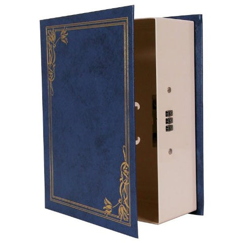 Secret Safe - Metal Book Safe With Combination Lock