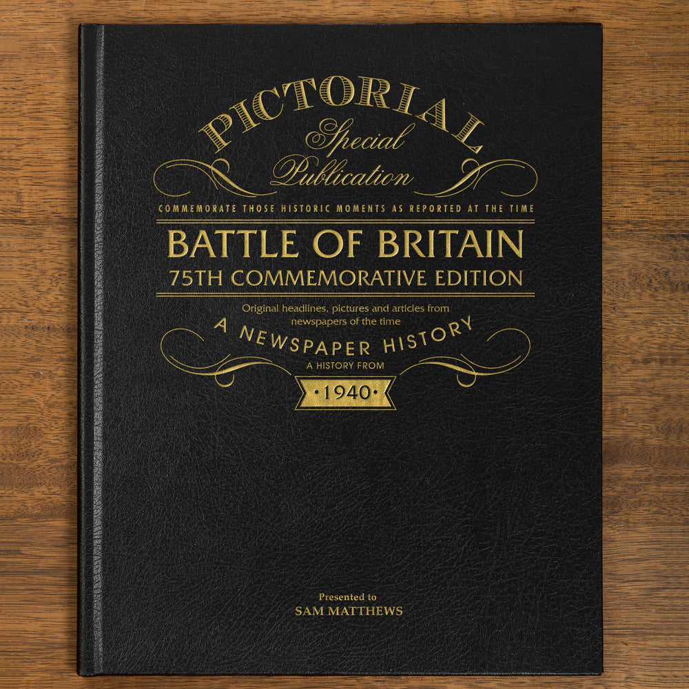 Personalised - Battle of Britain - Pictorial Edition Newspaper Book