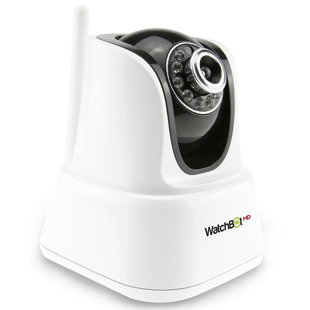 WatchBot 3.0 HD CCTV Security / Surveillance Camera - White/Black