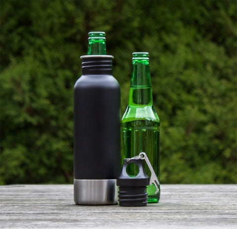 insulated beer bottle