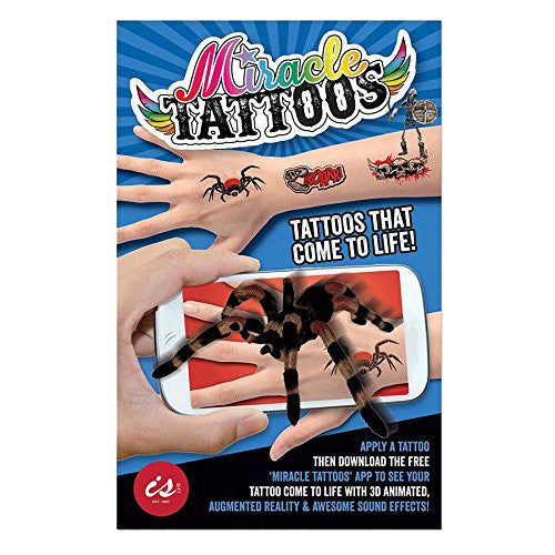 Boys Magic Tattoos - 3D Augmented Moving Tattoos