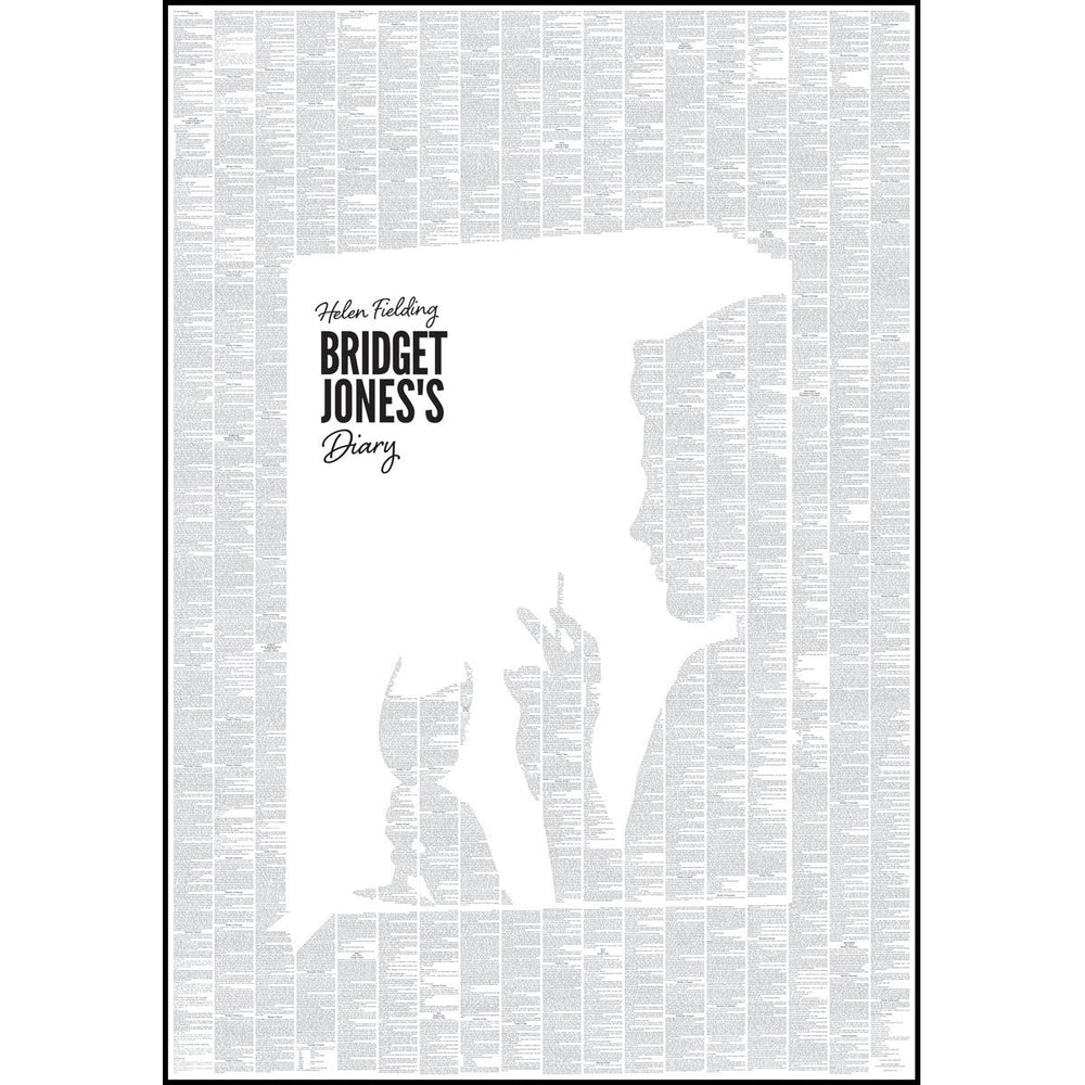 Spineless Classics 'Bridget Jones's Diary' Full Text Book Poster