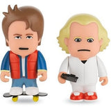 ToonStar Figures (Back to the Future) Marty McFly & Doc Brown