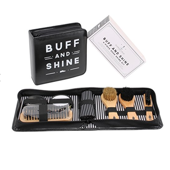 The Dapper Chap 'Buff & Shine' Shoe Cleaning Kit