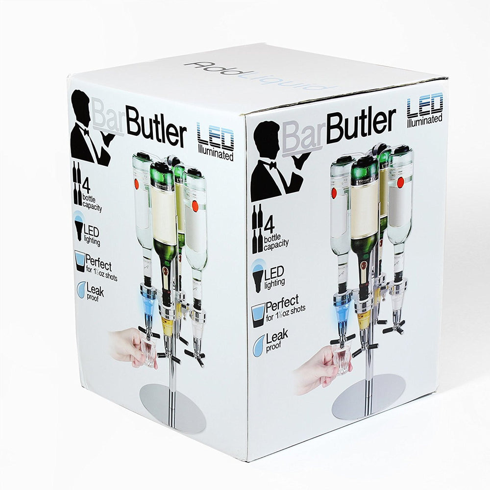 LED Illuminated Bar Butler - Perfect 1.5 oz poured shots!