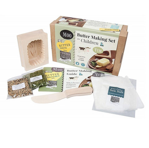 Butter Making Set For Children by The Cheese Makers Choice