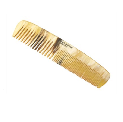 Abbeyhorn Small Double Tooth Comb 130mm