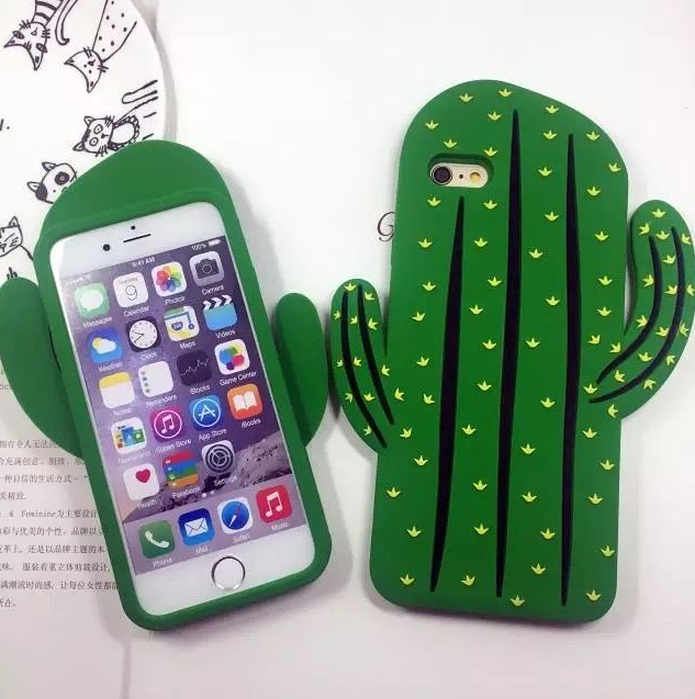 Cactus Silicone Case for iPhone