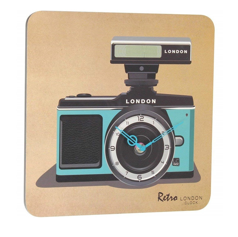 Retro Camera Wall Clock by London Clock Company