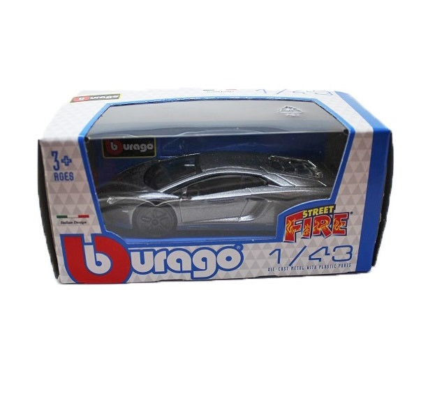 Bburago Street Fire 1:43 Scale Lamborghini Die-cast Metal Car