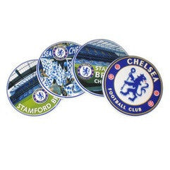 Chelsea FC - Ceramic Stamford Bridge Coaster Set - Official Chelsea FC