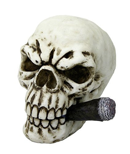 "Skull with Cigar ""Boss"" - Myths, Legends, Cultures & Fantasy"