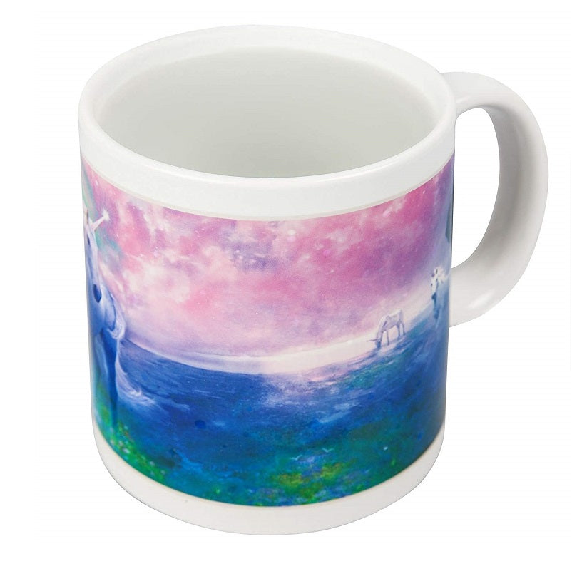 Unicorn Heat Colour Changing Mug Side