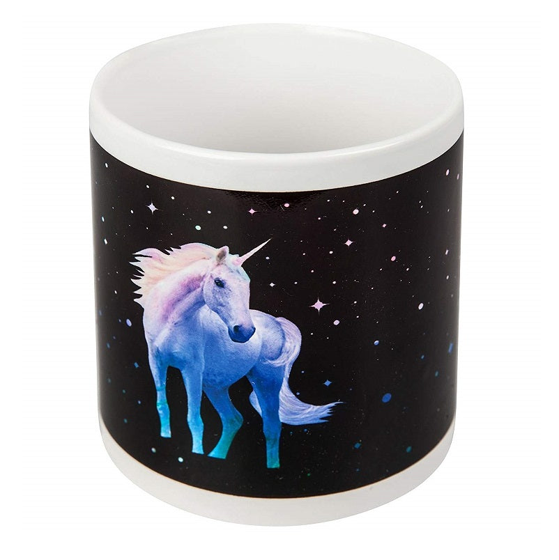 Unicorn Heat Colour Changing Mug Dark Side