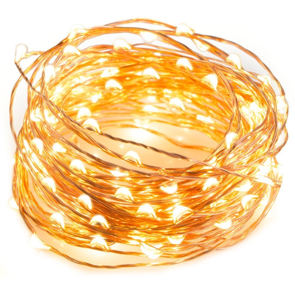 Copper LED String Lights