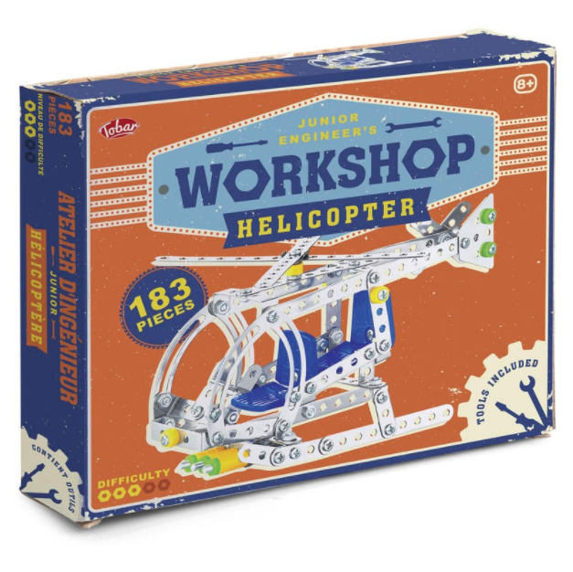 Junior Engineer's Workshop - Helicopter Construction Kit