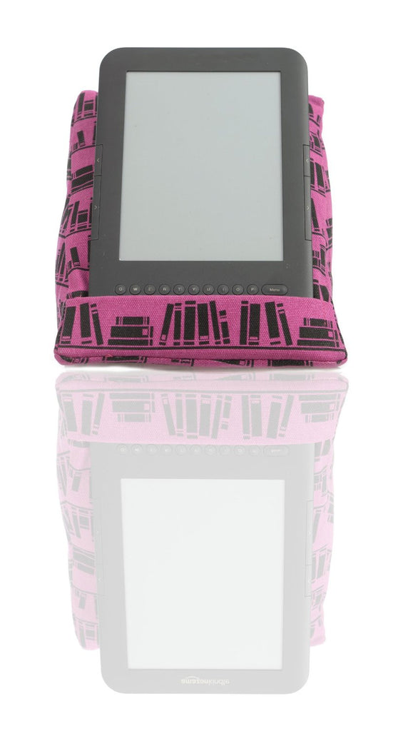 coz-e-reader® Hot Pink Books e-reader Cushion Stand