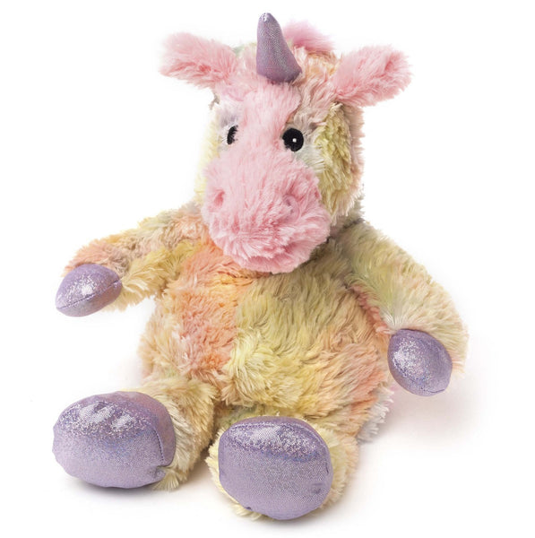 Warmies Cozy Plush Rainbow Limited Edition Unicorn Microwaveable Soft Toy