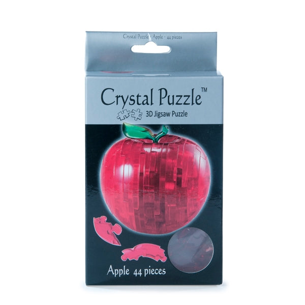 Red Apple 3D Crystal Jigsaw Puzzle